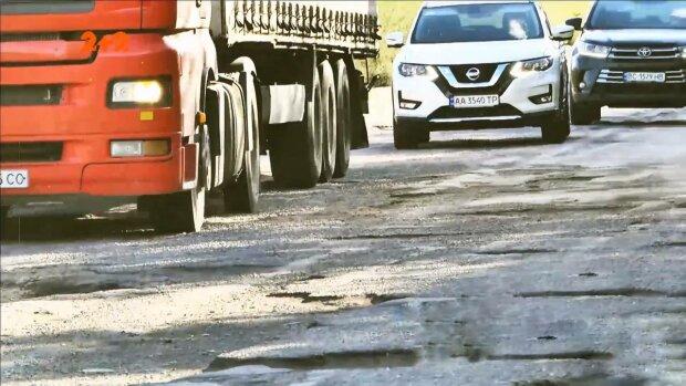 Ремонт дороги, фото: скріншот з відео