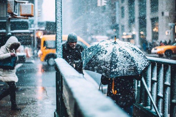 Перший сніг та мінусова температура: погода на листопад здивує українців