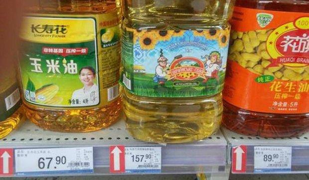Украинские продукты завоевывают мировые рынки (фото)