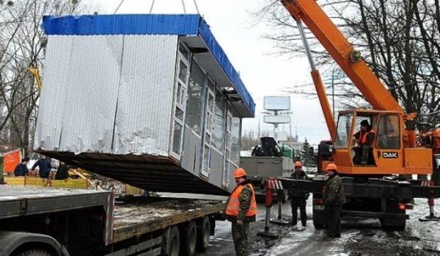 За незаконные МАФы киевляне заплатят 6 миллионов гривен