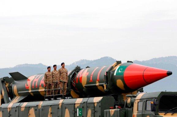Пакистан випробував балістичну ракету, фото з вільних джерел