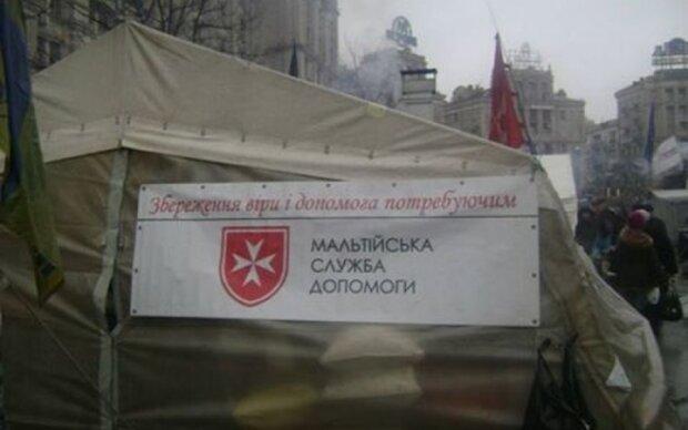 Лицарський орден допоможе воїнам АТО