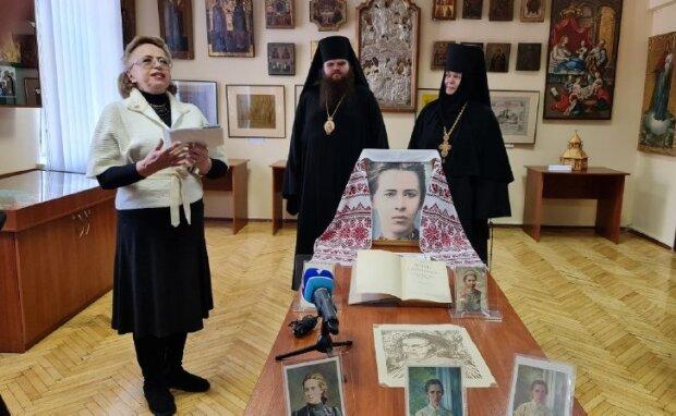 выставка к 150-летию со дня рождения Леси Украинки / Фото: Центр информации УПЦ