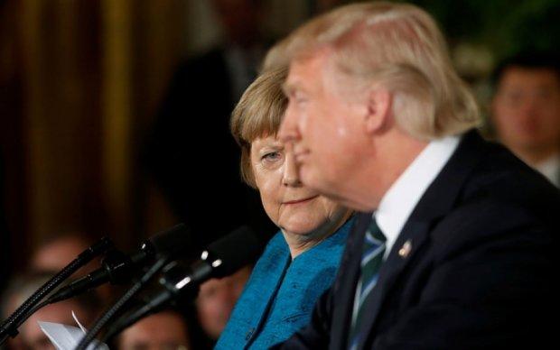Трамп і Меркель обговорили Україну