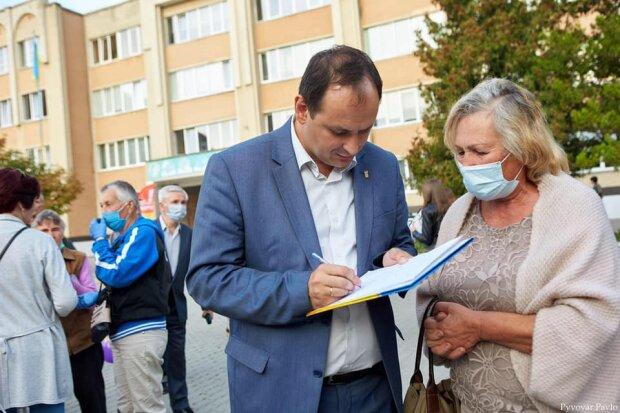 Франківчанам показали список виконаних обіцянок Марцінківа перед виборами