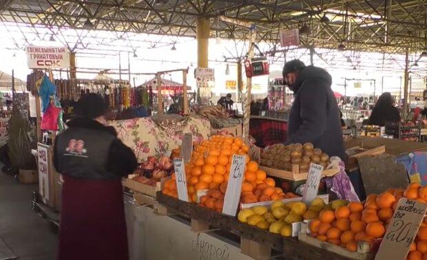 Рынки в Украине, скриншот: YouTube