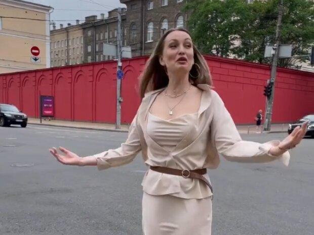 Таня Татарченко, скріншот  із відео