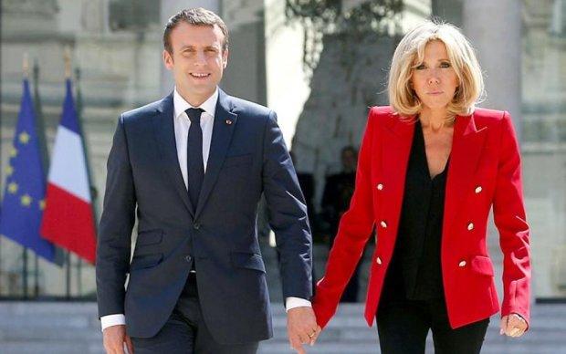 В семье французского президента пополнение: фото