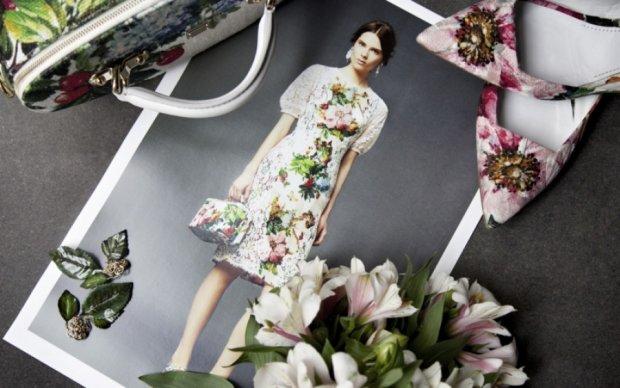Весняні букети на одязі: який принт став трендом 2017