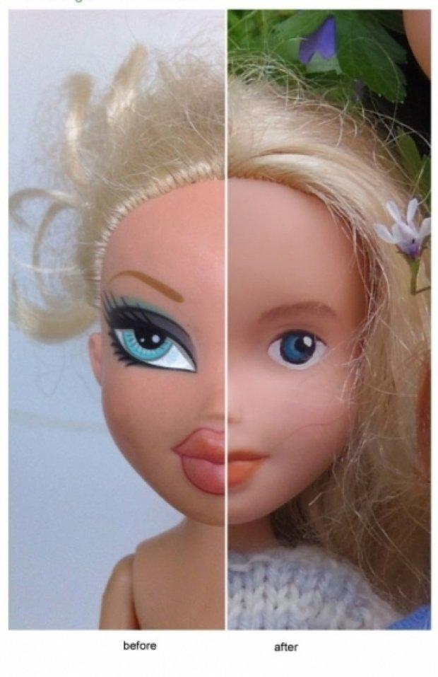 Умитих ляльок продають за 2,5 тисячі гривень
