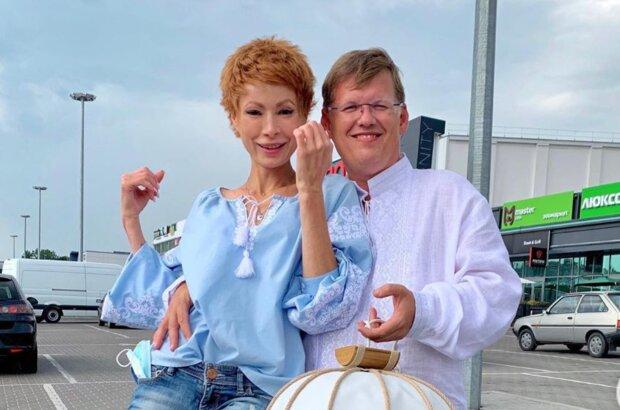 Елена-Кристина Лебедь и Павел Розенко, фото: instagram.com/elena_kristina_lebed/