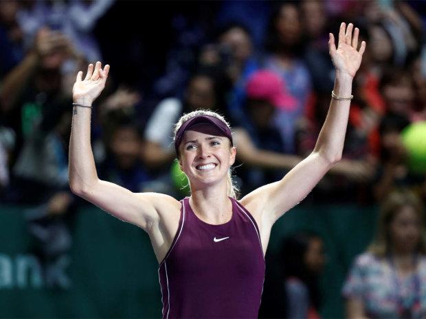 Свитолина стала лучшей теннисисткой октября: видео