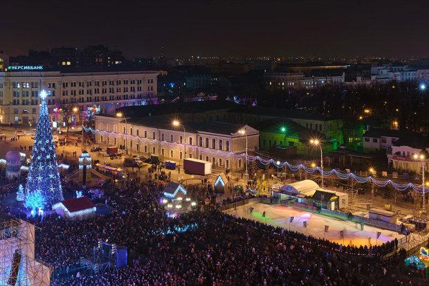 Святкування Нового року в Харкові