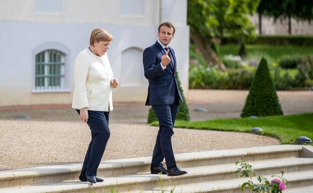 Емманюель Макрон і Ангела Меркель, фото: Getty Images