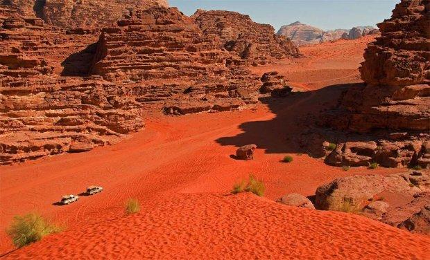 Пустеля Ваді Рам: загадковий шматочок Марса на тілі Землі