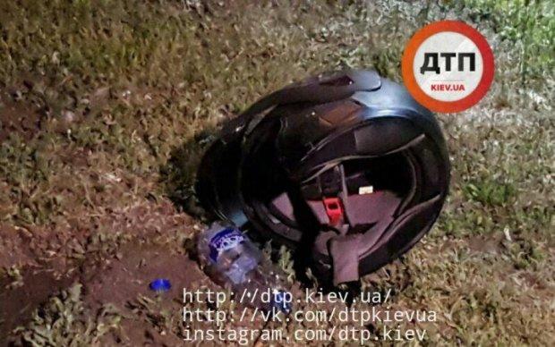 У Києві розстріляли мотоцикліста: фото