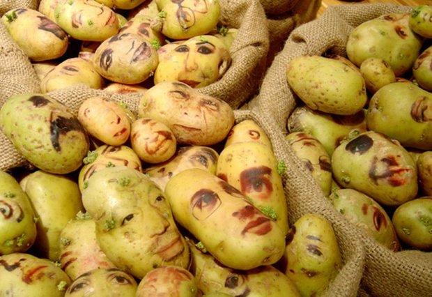 Забудьте про пюре, тепер на картоплі можна малювати. У мережі запустили новий челлендж щодо створення незвичайних портретів