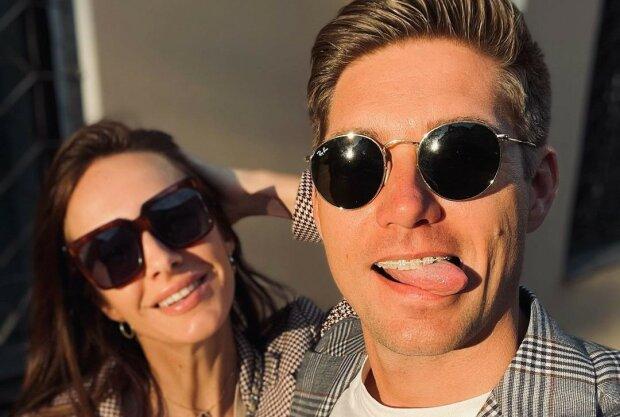 Володимир Остапчук з дружиною, фото: Instagram