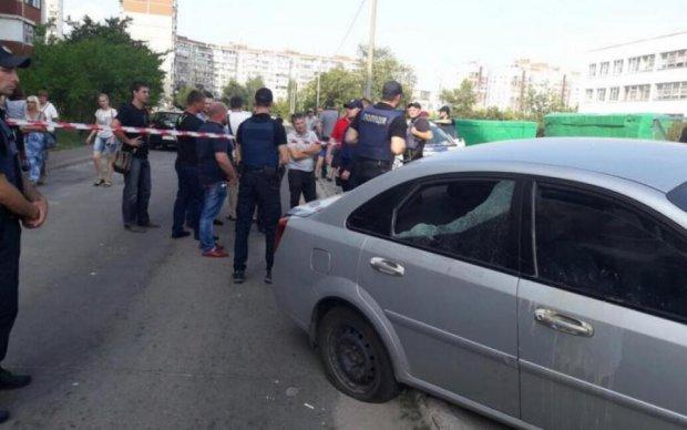 Стрілянина за участю нардепа в Києві потрапила в об'єктив камери