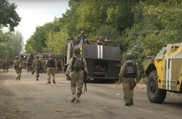 армія, скріншот з відео