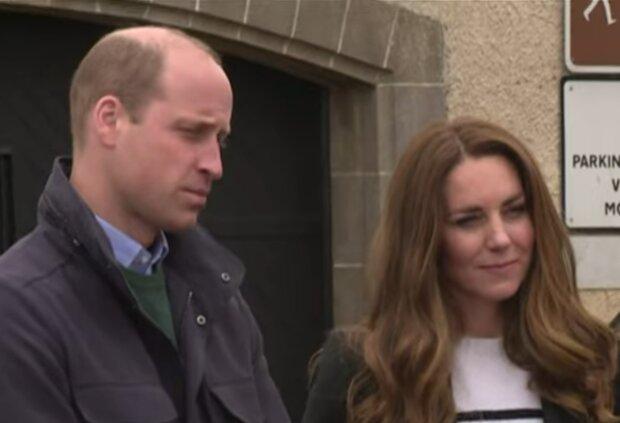 Принц Вільям і Кейт Міддлтон, кадр з відео