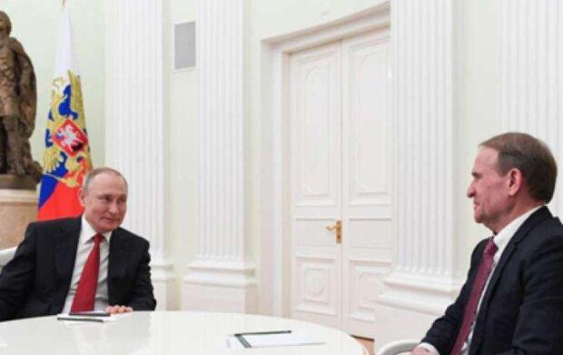 Путин и Медведчук, фото: lenta.ua