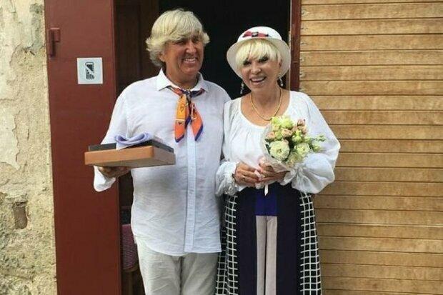 Валентина Легкоступова з чоловіком, фото з соцмережі
