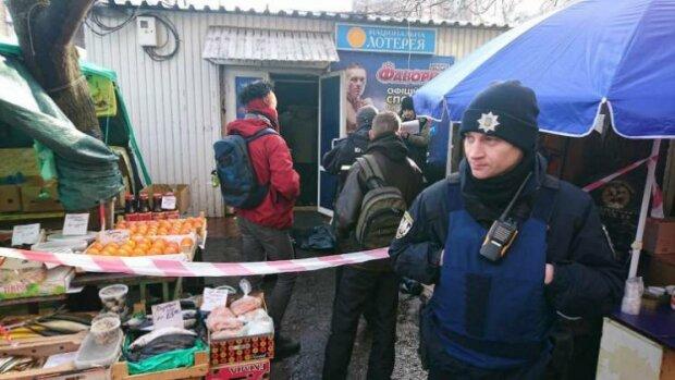 Инцидент в Киеве, фото: Киев Вечерний