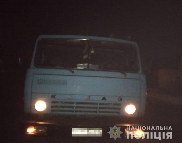 """На Закарпатті спіймали вантажівку, набиту деревами: """"Вони рубають, нас - затоплює"""""""