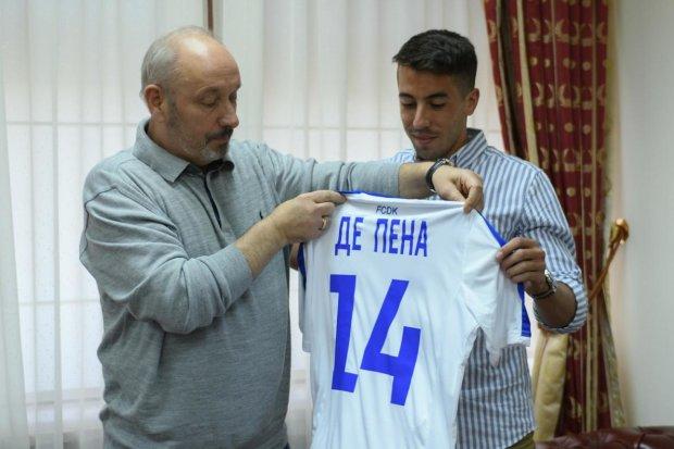 Уругвайский новичок Динамо начал учить украинский язык: настоящий козак