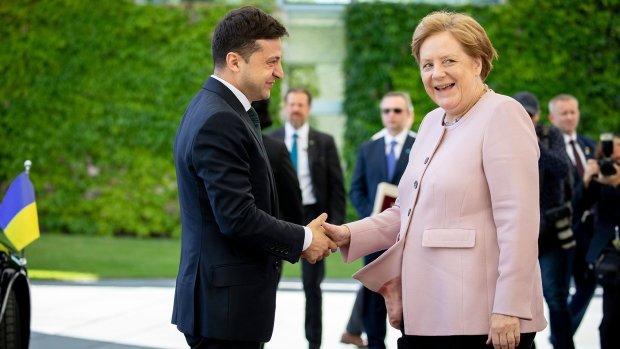 Меркель знову трясло, цього разу не біля Зеленського: відео
