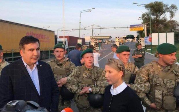 Прорив Саакашвілі через кордон: суд вирішив долю Тимошенко