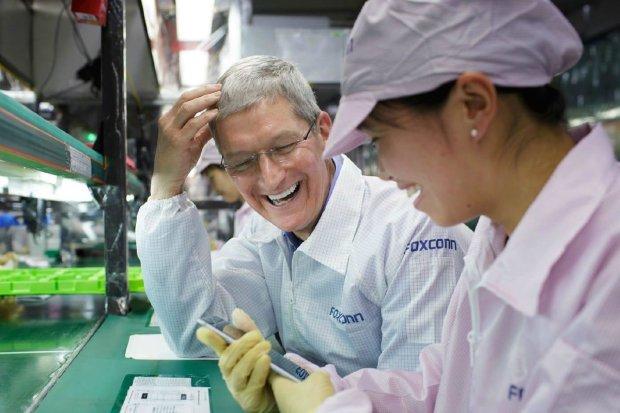 Apple побудує ще один завод для iPhone