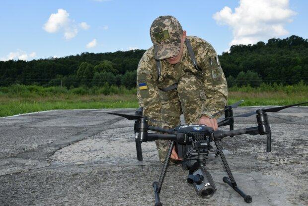 Беспилотник, фото ГПСУ