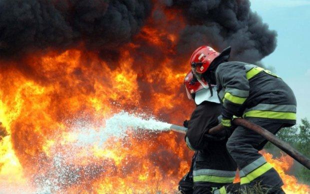 В центре Киева сгорел ресторан