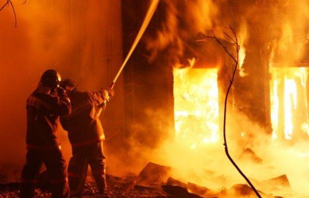 Пожежа на Львівщині