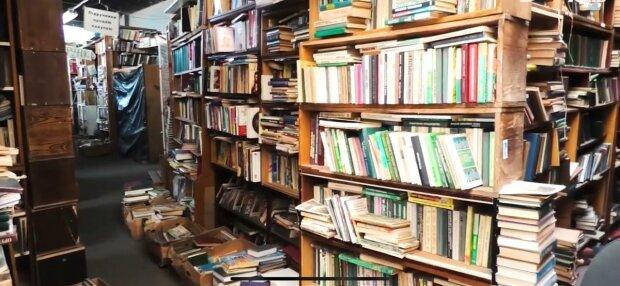 Книжный, фото: скриншот из видео