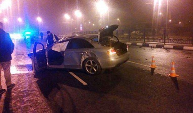 Ночные «автогонки» в Харькове закончились серьезными авариями (фото)