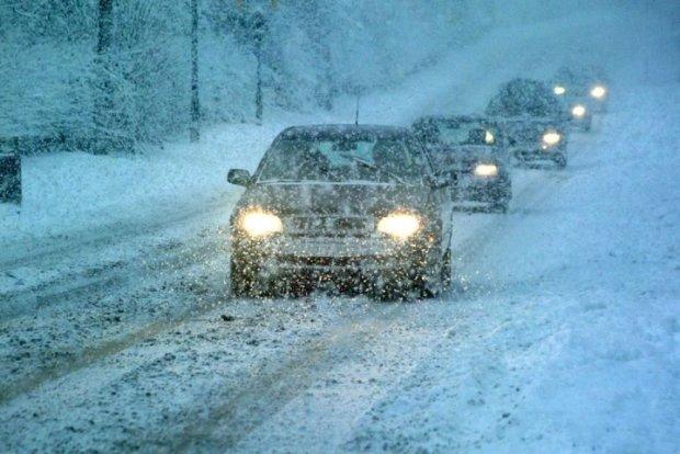 Полтавщину закривають для транспорту, сніговий апокаліпсис настав