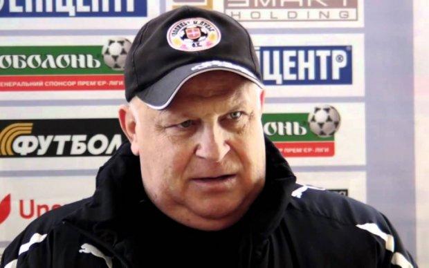 Легендарний тренер Волині висловив усе, що він думає про український футбол