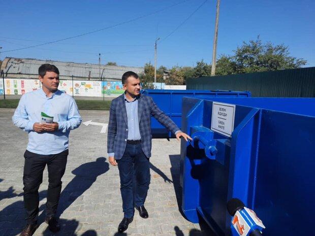 В Хмельницком открыли центр приема отходов, фото khm.gov.ua