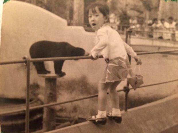 Моя чотирирічна мама і ведмідь, фото:Boredpanda.com
