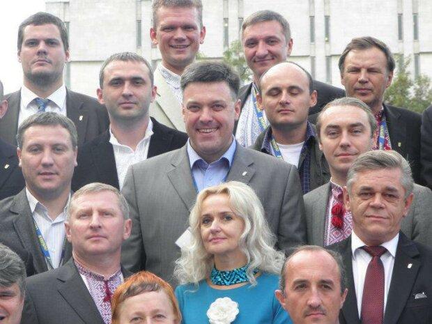 Андрій Іллєнко і Свободівці