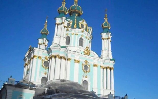 Инженеры показали обновленный Андреевский храм