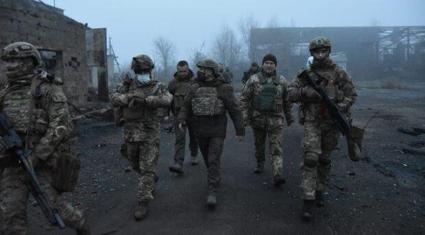 Зеленський на Донбасі, фото з Facebook