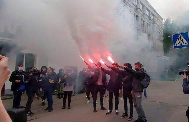 Мітинг у Києві, фото: Telegram-канал Klymenko Time