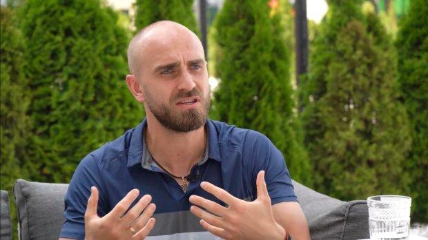 Андрей Хомицкий, скриншот с видео