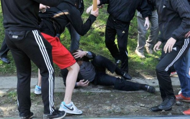 Хлопця вбили одним ударом в центрі Москви: відео 18+