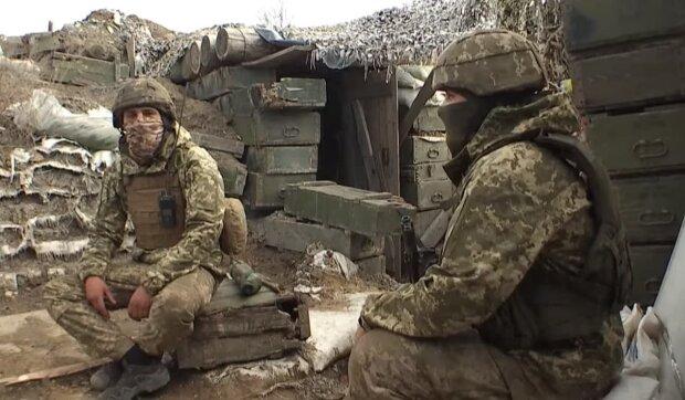 Воин ВСУ, скриншот: Youtube
