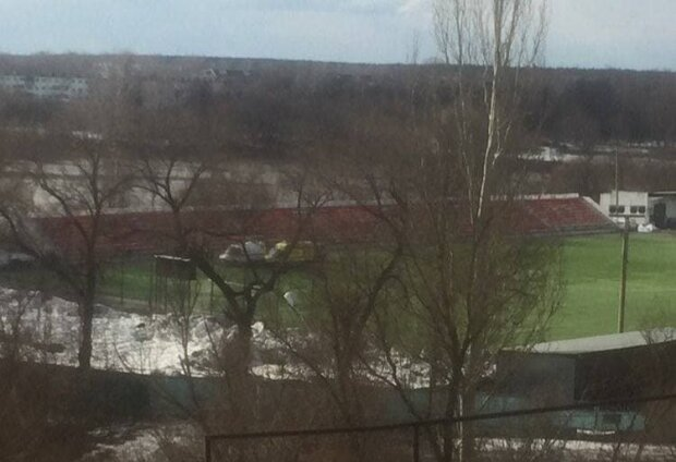 Футбольний стадіон / фото: Instagram